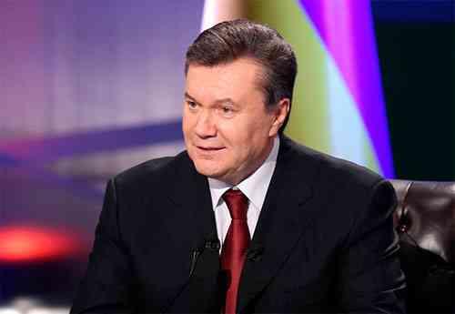Виктор Янукович: