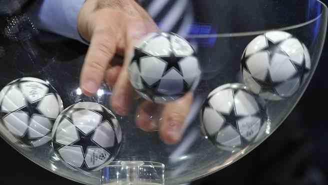 Жеребьевка группового этапа Лиги чемпионов - видеотрансляция