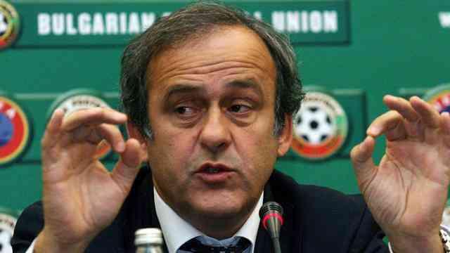 Мишель Платини: «Фанаты Роналду не забрасывали мой дом мячами. За лживой информацией стоит агентство из Португалии»