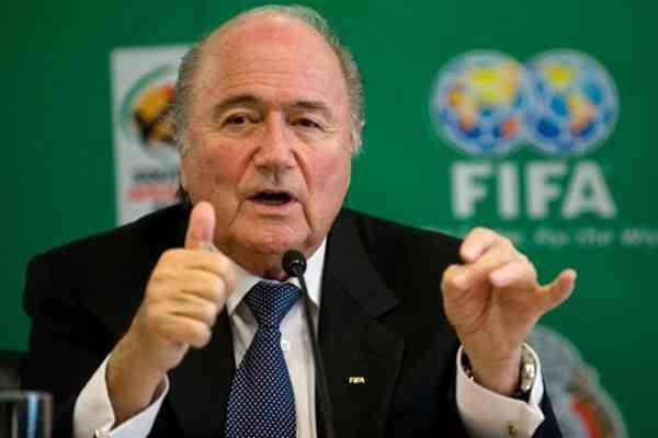 Блаттер пятый раз подряд выдвинул свою кандидатуру на выборах президента ФИФА