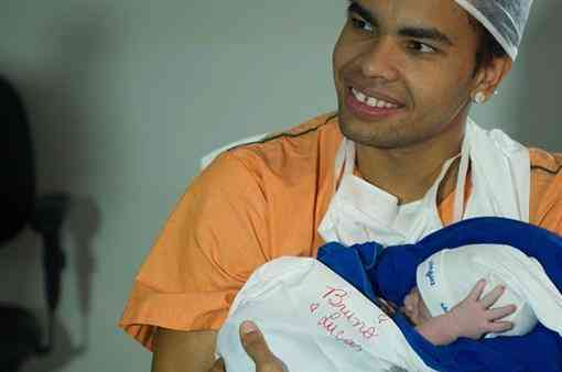 Дентиньо намерен воспитать из сына футболиста сборной Бразилии