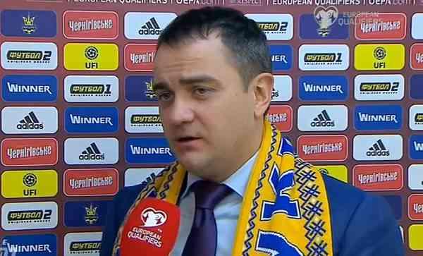 Андрей Павелко: «В нашей группе нет явного аутсайдера, как и явного фаворита»