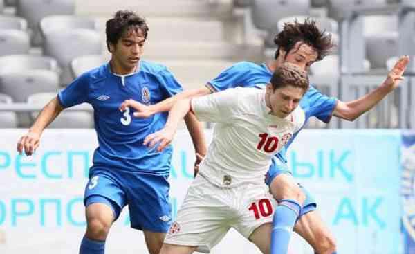 Форвард Шахтера дебютировал за сборную Грузии