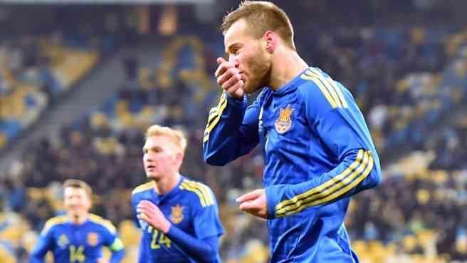 Ярмоленко помог Украине скромно переиграть Уэльс