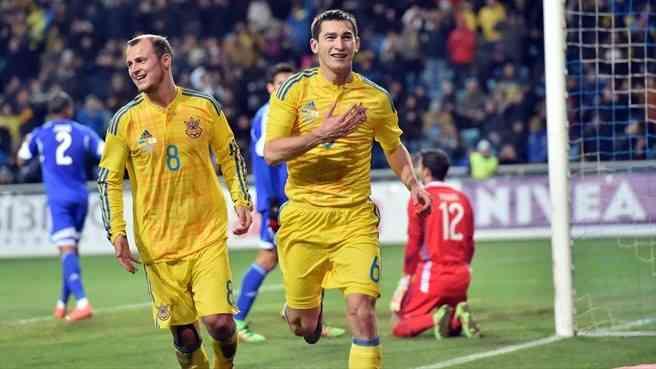 Гол Степаненко помог Украине обыграть Кипр