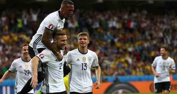 Украина проиграла Германии в первом для себя матче Евро-2016