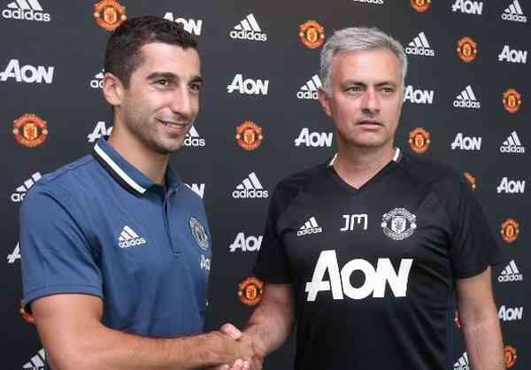 Состоится дебютная игра Генриха Мхитаряна в«Манчестер Юнайтед»