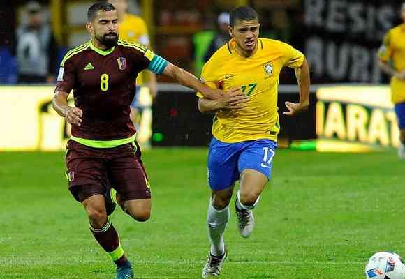 Тайсон сыграл за сборную Бразилии пару минут в матче, где забил Виллиан
