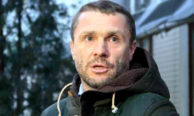Ребров: рад, что сейчас в сборной Украины нет гарантированных игроков
