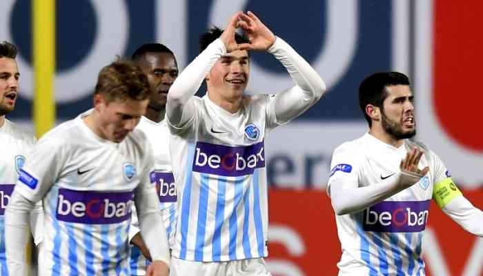 Украинец Малиновский забил гол-красавец вчемпионате Бельгии