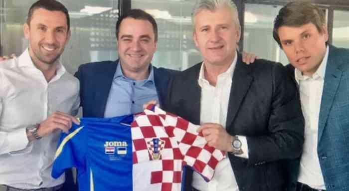 Шукер, Срна и Вукоевич встретились с Павелко в Загребе