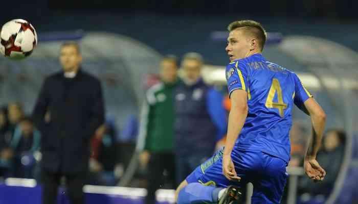 Дулуб: в матче с Хорватией Матвиенко не стушевался