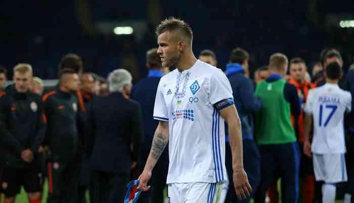 Бавария подпишет Андрея Ярмоленко в ближайшее время