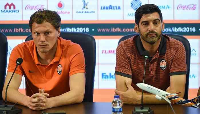Андрей Пятов и Паулу Фонсека
