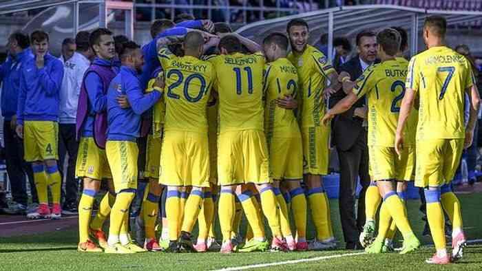 Голы Коноплянки и Беседина принесли Украине победу над финнами