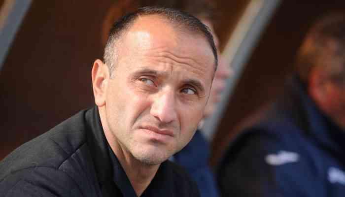 Тренер Стали Меликян встал на защиту своих игроков в перепалке с Хацкевичем