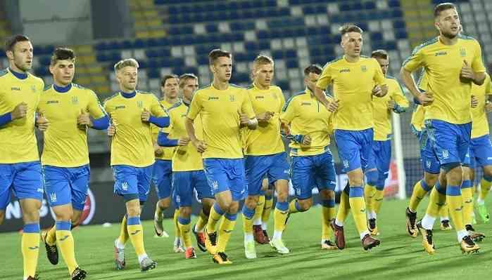 Стали известны составы команд на матч Украина - Словакия