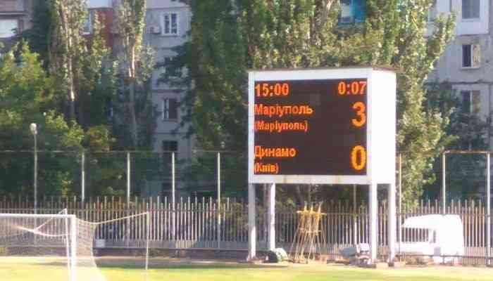 Решение наказать Динамо техническим поражением за Мариуполь оставлено в силе